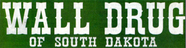wall drug bumper sticker