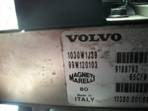 White label means that your ETM has not been replaced by Volvo